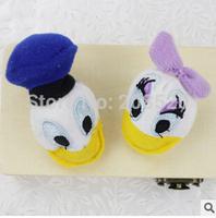 100pcs/lot 6cm donald daisy head plush toys dolls,stuffed donald daisy plush DIY accessories for promotion gifts