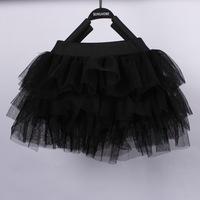 Children Girls Skirt Yarn Tutu Skirts Baby Fashion Kids Dancing Costume Girls Summer Skirt Child Clothes