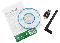 Hot 2015 Mini USB wi-fi Wifi receiver Router 150Mbps 2dbi Wireless Adapter 150M Computer LAN Card 802.11n/g/b Antenna For Laptop