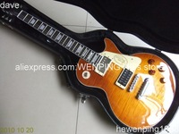 Free Hardcase Free Shipping  Wholesale custom shop 1958 lemon honey burst electric guitars LP guitar top quality