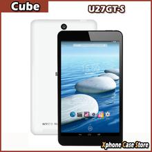 Original Cube U27GT-S 1GB/8GB 8.0 inch 1280 x 800 Android 4.4 Tablet PC MTK8127 Quad Core 1.3GHz GPS Wifi Bluetooth Dual Cameras