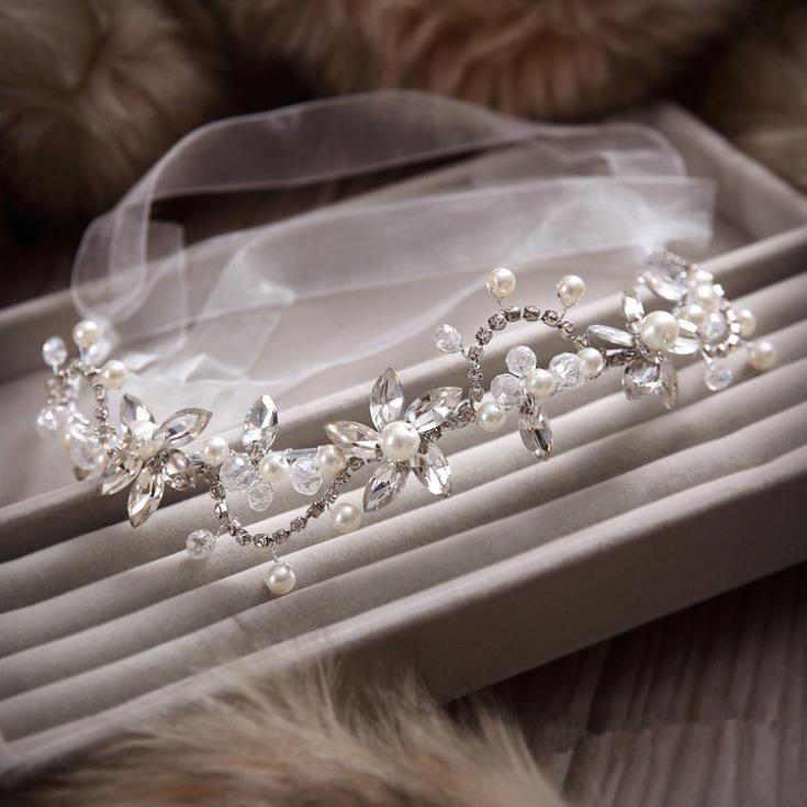 Rhinestone Wedding Headband Crystal Hairband Head Chain Hair Jewelry Bridal Tiaras Tiara Noiva Bride Headpiece WIGO0411(China (Mainland))