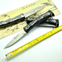 12pcs/lot, Hot Tactical Camping Survival Folding Knife 56HRC 440C Blade Aluminium Handle Free Shipping + Retail Packaging