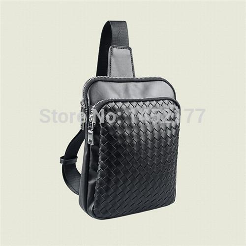 Korean designer brand PU leather fanny pack men vogue fashion waist bag pouch women casual small chest bags pochete cintura(China (Mainland))