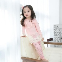 Wholesale Eleven new spring & fall baby Girls lace Dresses  ES12DS-21