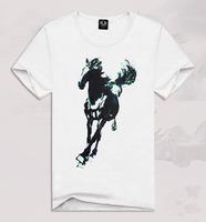 Foreign trade men short sleeve t-shirt men's youth pop creative 3D T-shirt TX-ZGF2