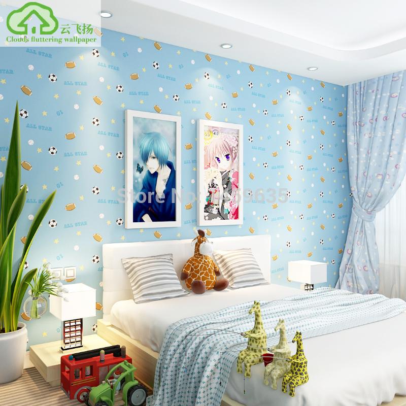 Papel de parede quarto futebol popular buscando e comprando fornecedores de sucesso de vendas da - Foto slaapkamer baby jongen ...