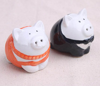 100sets/Lot, Fashion Wedding Favor Pig Salt Pepper Shaker Wedding Party Souvenirs Lovely Gift Home Decor