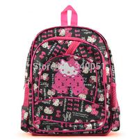 13.5 Inches Hello Kitty School Backpacks For Kindergarten Girls Grade 1 Girls' School Bags