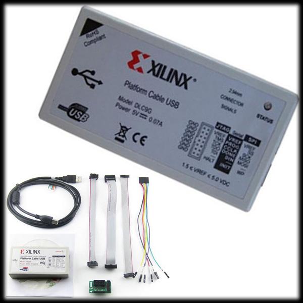 50% shipping fee 5 pcs Xilinx Platform USB Download Cable Jtag Programmer for FPGA CPLD C-Mod XC2C64A(China (Mainland))