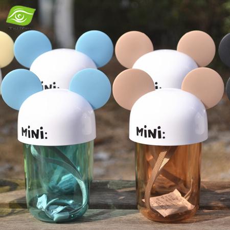 1 PC dos desenhos animados Mini plástico xícara de água 250 ML crianças crianças garrafa de água garrafa de bebida alimento seguro bonito caneca de viagem(China (Mainland))