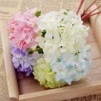 10 pcs/lot Artificial Flowe Little hydrangea 5Colors Simulation flowers for Wedding Party Home DIY Decoration