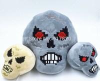 NEW Terraria Skeletron Prime Feature Plush Toy Soft Doll Kid Birthday Gift Big size n grey