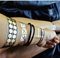 Body Art  Painting  Waterproof Tattoo Stickers Temporary Flash Tattoo Disposable Indians Tattoo
