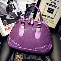 Trend 2015 women's vintage large capacity portable scrub shell handbag messenger bag online free shipping