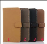 8pcs/lot Flannelet Wallet Leather Case Cover Stand for Samsung Galaxy S6 G920 Case