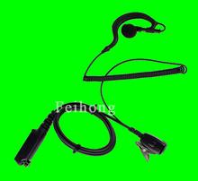 PTT MIC G Shape Earpiece Headset for Walkie Talkie Sepura STP8000
