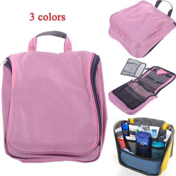 Toiletry Makeup Kit Bag Storage Waterproof Cosmetic Bag Women Men Picnic Wash Handbag Korea Multifunctional Organizer Travel Bag(China (Mainland))