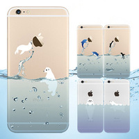 "Newest Japan marine animal Ultra Thin Transparent Case For iPhone 6 4.7"" Phone Cover For iphone6 4.7inch cases"