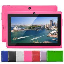 7 inch Q88 Tablet PC Allwinner A23 800 x 480 Dual core Dual camera WIFI OTG 512MB+8GB, Android 4.4 Tablet PC XPB0206
