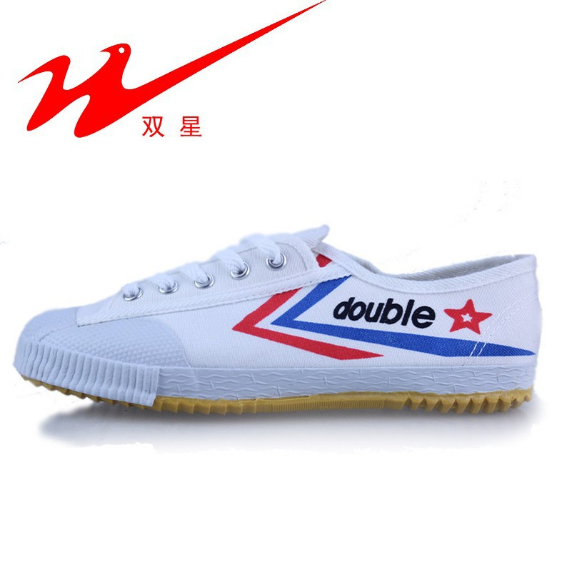 DOUBLE STAR men and women running shoes Volleyball shoes Sports canvas shoes Tennis shoes(China (Mainland))