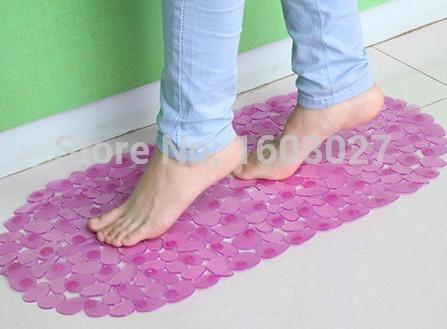 BM05 bath mat anti-slip bath mat protection bath mats Bathroom Safety antimicrobial Bath Shower Mat with Non- slip Suction(China (Mainland))