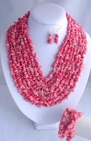 F0080!! Hotsale!! fashion New Fashion elegant Coral