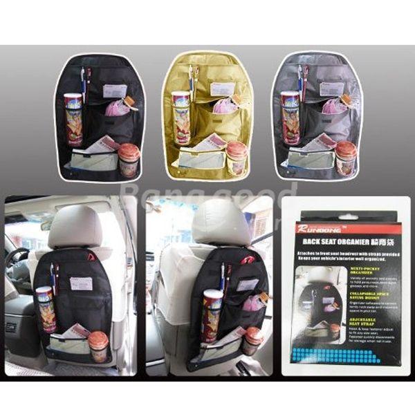 HotHeart Car Back Seat Multi Pocket Storage Organizer Arrangement Bag of Chair(China (Mainland))