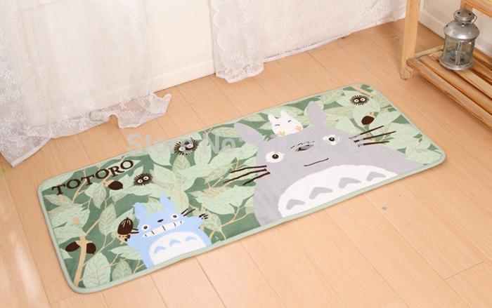 2014 New Arrival Totoro long floor mats piaochuang pad crawling mat yoga mat bed pad 50 *120cm(China (Mainland))