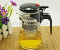 Wholesale 750ml Heat Resistant Glass Tea Pot Flower Tea Set Puer Teapot Coffee Pot High-quality Teaset Convenient Office Tea Set