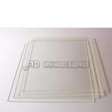 3d printer accessories Borosilicate Glass Borosilicate Glass 254*254*4mm tempered Glass Plate For diy reprap