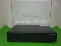 1pc/lot china post free New model X Solo Mini 2/ mini vu solo with BCM7358 DVB-S2 enigma 2 Linux Satellite Receiver X Solo Mini