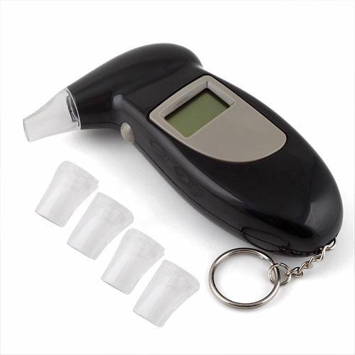 Digital LCD Alcohol Breath Analyzer Tester Keychain #3(China (Mainland))