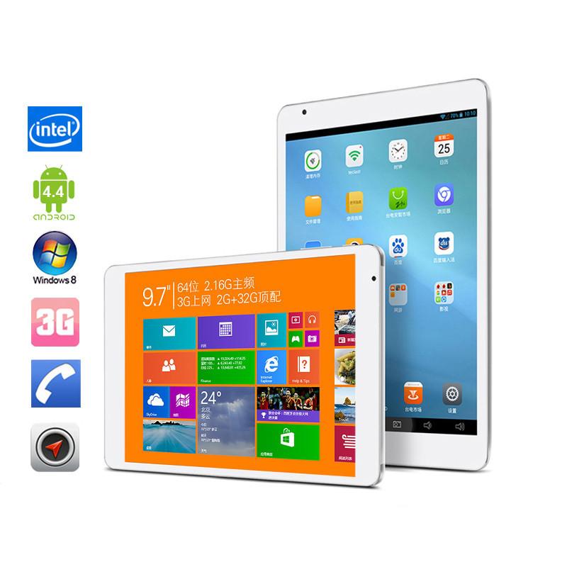 "Teclast X98 Air 3G: 9.7"" Dual Boot Intel Bay Trail-T Phone Call 3G Tablet PC Quad Core 2GB 64GB IPS Screen GPS(China (Mainland))"