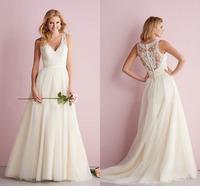 Vestido De Casamento Fashionable Vintage Wedding Dresses Hot Sale Bridal Gowns Custom Made Cheap Bridal Gowns 2015 New