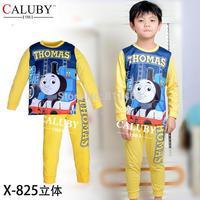 2014 spring new fashion children thomas long sleeve clothing set / kids pajamas set / boys loungewear  X-825