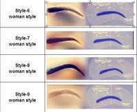 Hot! Free shipping High Quality woman eyebrow 2 paris/lot