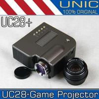 UNIC UC28+ Game Portable mini Projector with HDMI Mini Micro AV LED Digital Video Multimedia Home theater HDMI VGA AV USB SD