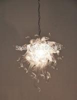 Elegant Shape Hanging Clear Glass Chandelier