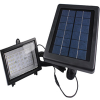 US! Outdoor 40 LED Solar Light Solar-Powered Spotlight Lamp Panel Garden Pool Pond Lawn Garden Light