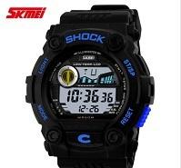 2015 New Skmei Watches Men luxury Brand Digital LED Military Fashion Gift Sports Quartz Watch Relogio Masculino Men Wristwatch