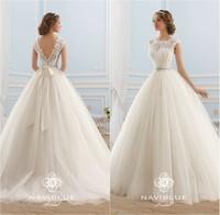 New Arrival Vestidos de Noiva Lace and Tulle Wedding Gown Vintage Wedding Dress 2015 Vestido de Noiva Curto Robe de Mariage