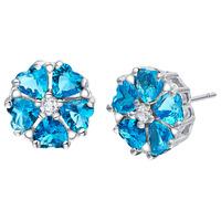 New!!! Best Quality Platinum Plated Austria Crystal Earrings,Wholesale Rhinestone Earrings,Fashion Jewelry,GYR852