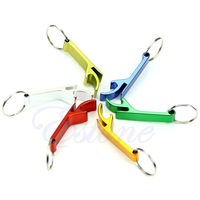 Hot Sale 1pc Pocket Beer Bottle Opener Claw Bar Small Beverage Keychain Key Chain Ring