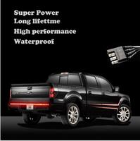 60inch Truck Smoky Tailgate LED Light Bar Reverse Stop Running Turn Signal