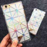 for iPhone 6 4.7 case,Luxury BAOBAO Baby Diamond Crystal Glitter Bling Clear Soft Silicone Cover case for iPhone6 Mobile phone