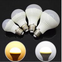 E27 3W 5W 7W 9W 5730 warm / cool white voal LED bulb light lamp energy saving LED Ball Steep light