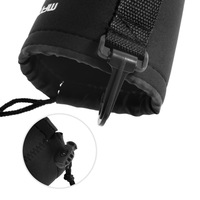 1 pcs Waterproof Soft  Size- L Camera Lens Pouch Bag Case  Matin Neoprene  Drop Shipping