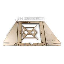 3d printer frame diy reprap mendel prusa i3 6mm linden wood frame shell