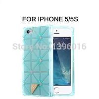 Fashion BAOBAO case for iPhone 5 5g 5s Laser bling shining crystal handbag chains case capa para celular back cover for iPhone5